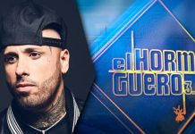 "Nicky Jam visita el martes 29 de octubre ""El Hormiguero"""